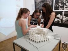 Fuga galérialátogatás 10. évfolyamos diákokkal